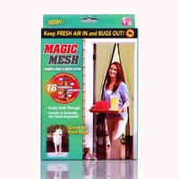 Magic mesh tv flies automatic curtain 190cm