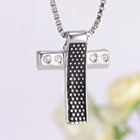Fashion Sterling Silver 925  Men's cross  pendants