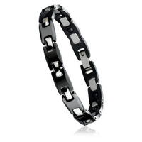 Tungsten bars and rods accessories black bracelet health bracelet magnet germanium stone gift