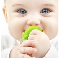 Retail Hot Sale New Clevamama Cleva Feed 1piece Baby Fresh Food Safe Silicone Feeder Baby Weaning Free Shipping