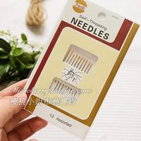 Gj13 gold sew-on needle needle - handmade diy tools