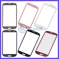 New Blue Black White pink Touch Screen Outer Glass Lens For Samsung Galaxy S3 S 3 SIII i9300 i535 L710 i747 T999 Free Shipping