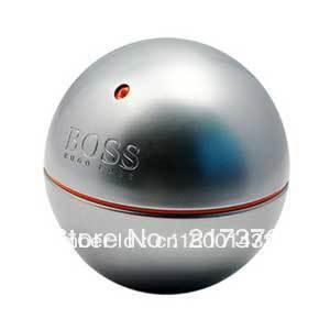 Best Selling boss Original packing parfum and perfume men 90ml EDT- In Motion silver grey -men's Perfume