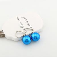 Decoration elegant hook pearl pendant earrings, 2014