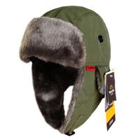 1PCS Santo Men Women Outdoor  Winter Ear Skiing Hat Thermal Cap Bomber Hats m-65 Color:Black/Red/Dark Grey/Blue Free Size 60CM
