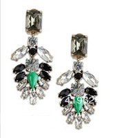 Crystal encrusted earrings for women gorgeous! statement earrings for women jewelry E288