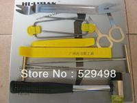 Car audio scrap specialty tool disassembly door panels table instrument door trim 10 piece set