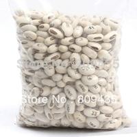 Magic Growing Message 100pcs Beans Seeds Magic Bean White English Magic Bean Bonsai Green Home Decoration