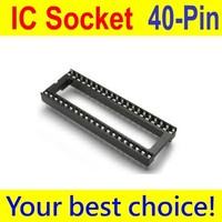 20PCS IC Socket Adaptor PCB Solder Type DIP Socket 40p 40-pin 40 pin DIY New