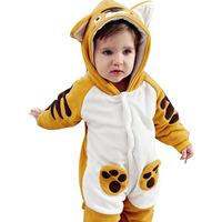 Killer loop rabbit winter 0 - 2 thickening baby animal style romper baby personalized baby bodysuit
