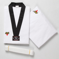 Adult child taekwondo myfi thaiquan 100% cotton clothes thaiquan myfi 100% cotton