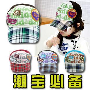 free shipping Child summer male child hat baby cap sun hat female child baseball cap