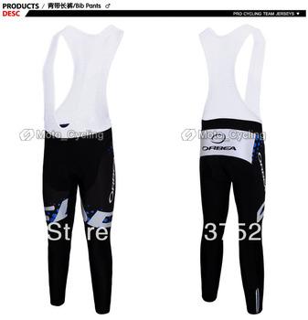 tour de francia 3 colores azul/blanco/rojo orbea equipo de ciclismo largo/pantalones bib 3d coolmax relleno aceptar modelo personalizado