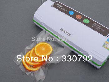 Aperts VS2110 Household Food Vacuum Sealer packing machine +Free 4 rolls bags