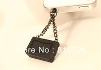 mini satchel shoulder bag purse dust plug the headphone luggage jack plug 20pcs   Can mix the color