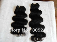 Free shipping Mixed length 3pcs 3.5oz/pc  Best quality Peruvian virgin hair extension Body wave machine weft hair