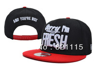 Wholesale&Retail Sorry I'm Fresh Snapbacks caps fashion new arrive caps&hats snapback,Free Shipping
