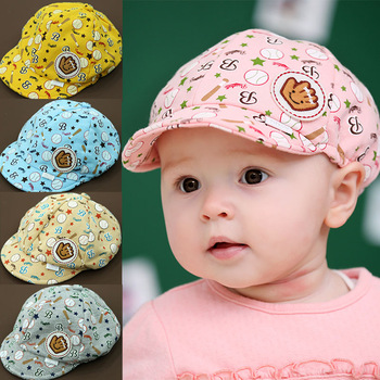 Princess child hat baby hat cap male cap baseball style hat sallei