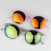 Min order is $12(mix order) free shipping multicolour 2013 mercury male female personality box scrub gold sunglasses CR078