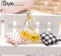 Free shipping handmade phone strap,Campanula bead strap,hotselling promotion gift