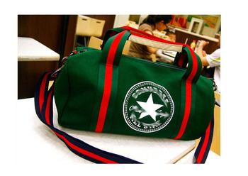 Free shipping 2013 brand designer high quality canvas sport bag gym bags,fashion sport bag women/men shoulder bags GB102