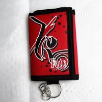Fate zero saber sangreal three fold wallet