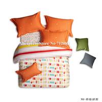 new arrivals mordern pattern bedding sets 100% cotton 4pcs queen/king bed comforter quilt/duvet covers