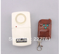 P107 Security Wireless Remote Control Vibration Door Window Detector Burglar Alarm
