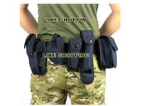 Hot sell Field belt belt outdoor multi-function Tactical Belt black