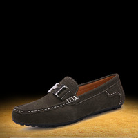 2013 Moccasins cowhide genuine leather casual shoes men leather shoes