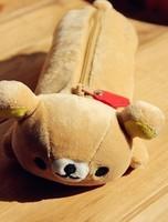 Super Kawaii SAN-X Rilakkuma Bear Plush Pen Pencil BAG Pouch Case Coin Purses & Wallet BAG Pouch Cosmetics Beauty BAG Case