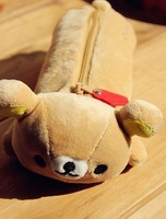 Super Kawaii SAN-X Rilakkuma Bear Plush Pen Pencil BAG Pouch Case Coin Purses & Wallet BAG Pouch Cosmetics Beauty BAG Case