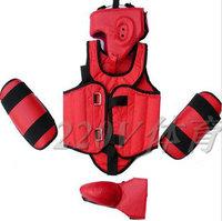 Free shipping taekwondo & Karate helmet, supporter, shank, chest protector