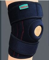 Spring-loaded pressure stable outdoor mountaineering knee pad can be adjusted super sticky kneepads