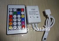 DC12V 24key IR LPD6803 pixel controller;72W output