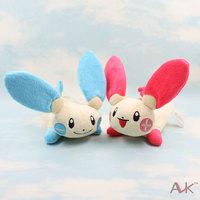 Pocket Monster plush toy doll pokemon plush toy doll Plusle Minun combination 2pcs/lot free shipping