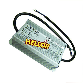 100W LED Driver Power Supply For 100Watt High power LED Waterproof IP67 85-265V