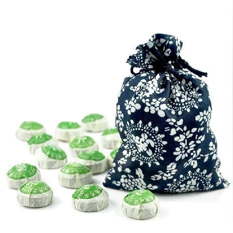 Free shipping 40pcs total 200g Chinese Yunnan classic puer tuo tea mini puer ripe tea decrease