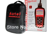 2013 Hot sale MaxiScan MS509 OBDII / EOBD Auto Code Reader work for US, Asian & European cars 24 pcs Free shipping to DHL