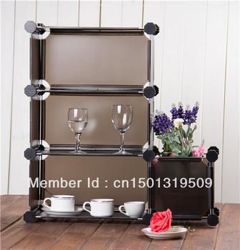 On Sale DIY Bedroom furniture DIY Armoire Storage Chiffonier Garderobe simple wardrobe combination wardrobe storage cabinet
