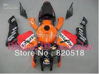 Injection mold red oange white black body for HONDA CBR600RR F5 2005 2006 CBR 600 RR 05 06 CBR600 600RR 05-06 2005-2006 fairing