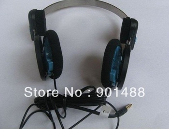 Folding brand p+p headphones high quality hot sell Buy in free shipping blue and red