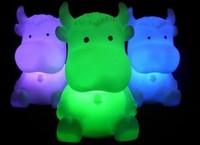 Zodiac cattle small night light colorful small night light color changing light-up toy