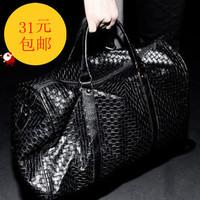 Bag woven bag large capacity handbag casual all-match work bag travel bag