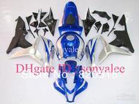Injection mold blue silver black for HONDA CBR600RR F5 2007 2008 2007-2008 CBR 600 RR 07 08 07-08 CBR600 600RR fairing kit E56