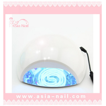 Free shipping! Hot sale newest 3W LED+12w CCFL Nail led UV Lamp Polish Dryer very fast curing