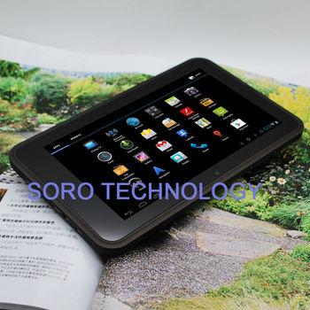 Free Shipping 7 inch MTK6575 Cortex A9 Tablet 2G/3G Phone Call+GPS+TV+Bluetooth+FM+Dual Camera Support Dual SIM 1GB RAM 8GB ROM