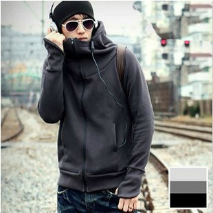 Low profit,hot sale top brand hoody,hoodies high quality men's coat silm coat fashion hoody 4 color
