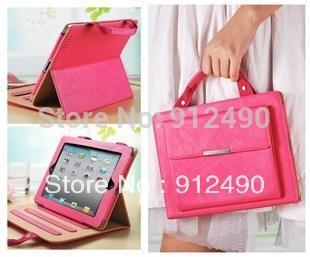 Portable Soft Case Ipad mini case 7.9'' Leather Case Cover Sleeve Transform Free shipping(China (Mainland))