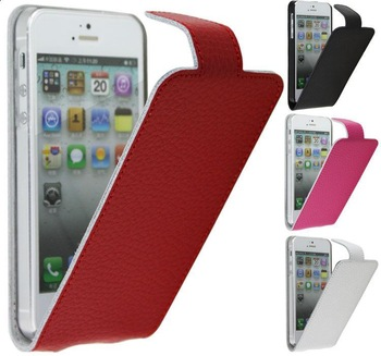 For apple    for iphone   5 litchi genuine leather case mobile phone case protective case cell phone case